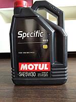 MOTUL SPECIFIC 913D 5W-30 5л