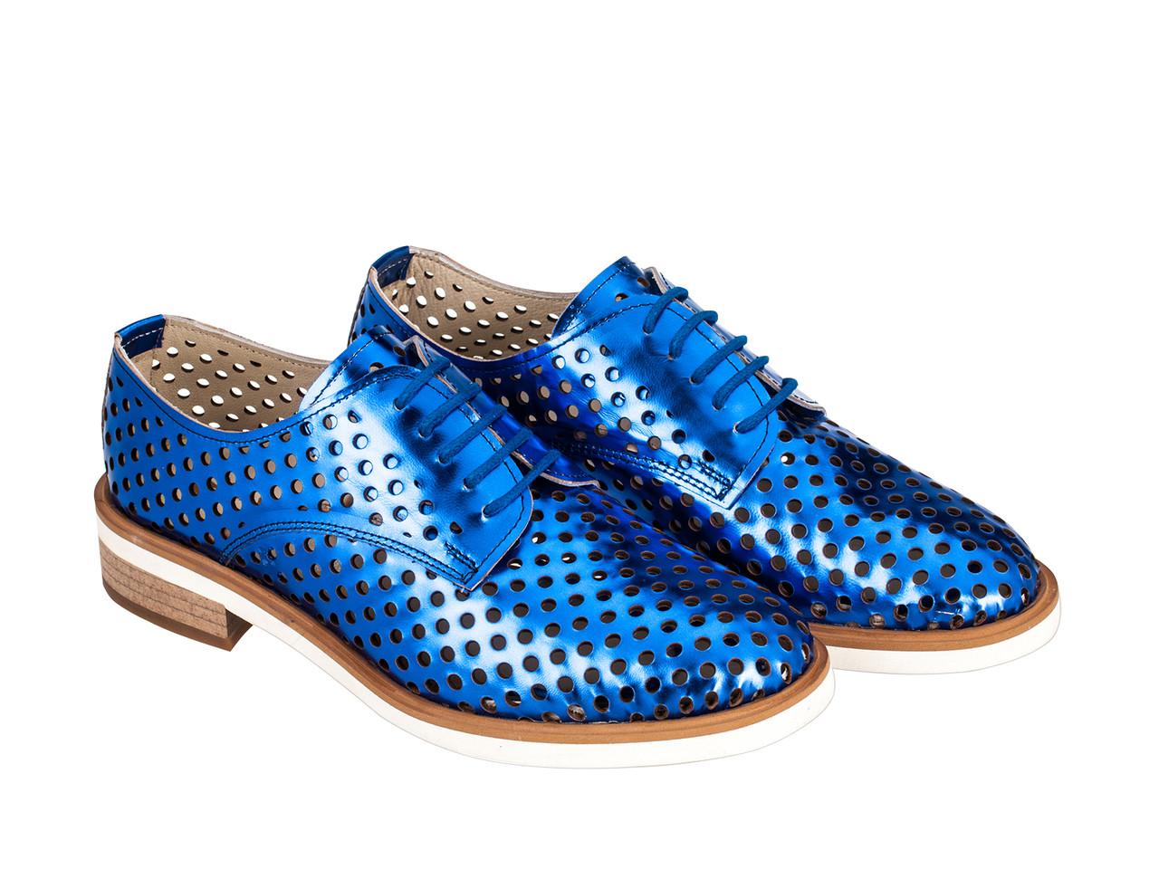 Туфли Etor 5890-10399-005 синие