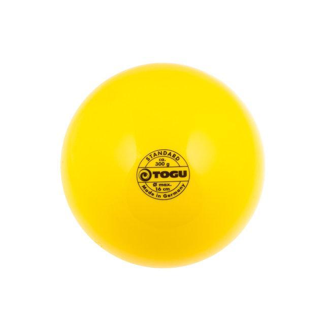 Мяч для художественной гимнастики 19 см.  400 гр. Togu (цвет в ассортименте)