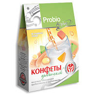 Молочные конфеты «Пробиомилк» (100гр.) с пробиотиками и пребиотиками.