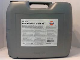 Моторное масло GULF FORMULA G 5W-40 20L