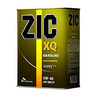 Моторное масло ZIC XQ 5W-40 4л