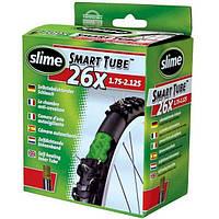 """Антипрокольная камера Slime с жидкостью 26 x1.75 - 2.125"""" PRESTA"""