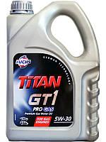 """Масло моторное синтетическое """"TITAN GT1 PRO GAS 5W-30"""", 4л"""