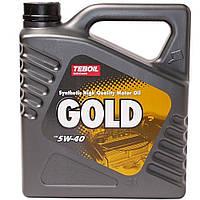 Масло моторное Teboil Gold S 5W40 4л