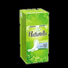 Прокладки ежедневные NATURELLA Camomile Light Deo 60 шт