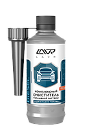 Комплексний очисник паливної системи LAVR Complete Fuel System Cleaner Diesel, присадка в дизельне паливо