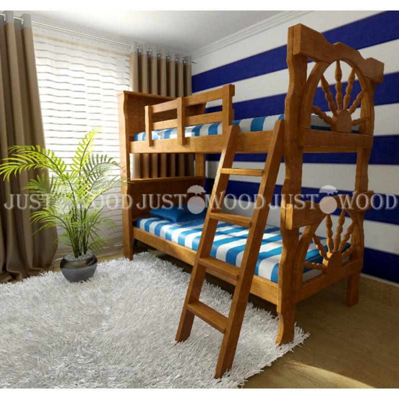 Двухъярусная кровать «Матроскин»