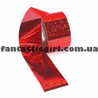 Фольга для литья ( красная мозаика )