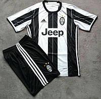 Футбольная форма Ювентус (черно-белая)