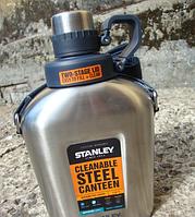 Фляга STANLEY стальная на ремне Adventure 1 l ST-10-01930-003