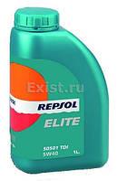 Моторное мало REPSOL ELITE 50501 TDI 5w40 1л