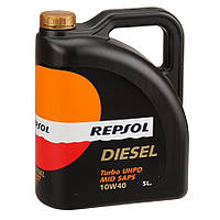 Масло моторное REPSOL DIESEL TURBO UHPD MID SAPS 10W40 5л
