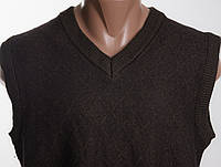 Безрукавка пуловер  MONTE CARLO  50% шерсть  размер 50  ПОГ 51 см б/у