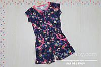 Комбинезон платье шорты для девочки размер 3,4,5,6