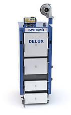 Универсальный котел на твердом топливе Буржуй Deluxe ДГ 14 квт, фото 2