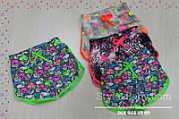 Трикотажные шорты для девочек Турция размеры 1-2,2-3,4-5 лет