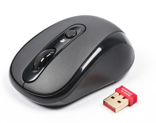 Мышь A4 Tech G7-250NX-1 black, USB V-TRACK беспроводная, мышка