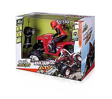 Велика радіокерована машина Маісто / Maisto R/C 27 Mhz (3-Channel) Rock Crawler ATV Remote Control