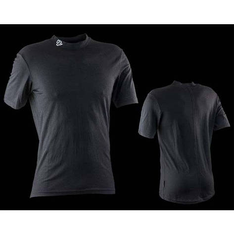 Термобелье верх Race Face STARK, short sleeve, BLACK, M, фото 2