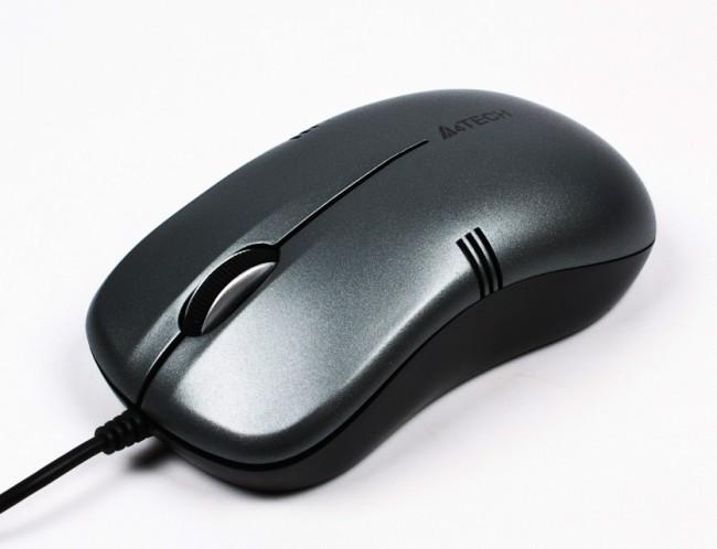 Мышь A4 Tech OP-560NU USB, 1000 DPI, чорна, мышка