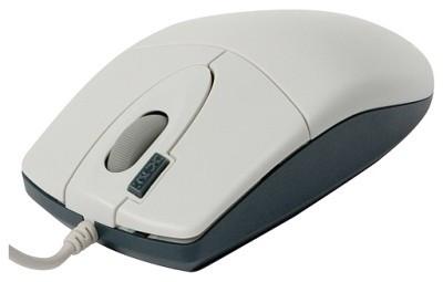 Мышь A4 Tech OP-620-D USB, Белая, оптическая 2-x Click,1wheel, мышка