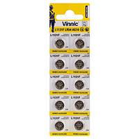 Батарейки Vinnic - Alkaline Manganese Button Cell AG10 L1131F LR54 1.5V 10/100/10000шт