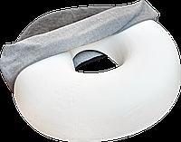 Ортопедическая подушка для сидения. Кольцом из пены памяти. При геморрое, и ряде других заболеваний.
