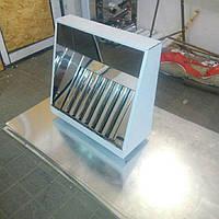 Вытяжной зонт пристенный н/ж  600х800, фото 1