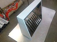 Вытяжной зонт пристенный нержавеющий    600х1600, фото 1