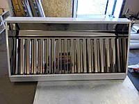 Вытяжной зонт пристенный нержавеющий    800х1400, фото 1