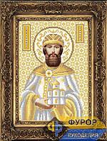 Схема иконы для вышивки бисером - Даниил Святой Благоверный Князь, Арт. ИБ4-034-2