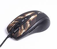 Мышь A4Tech XL-750BH USB (Бронзово-черная), X7 3600dpi Full speed Gaming Laser mouse Oscar