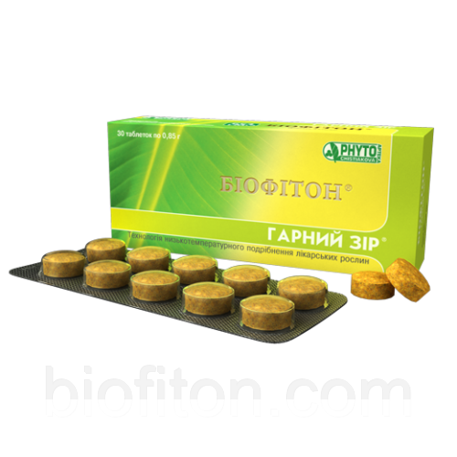 Хорошее зрение Фитотаблетки Биофитон 60таб.