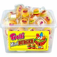 Желейные конфеты Мини Бургер Тролли Mini Burger Trolli 1000гр. 60шт