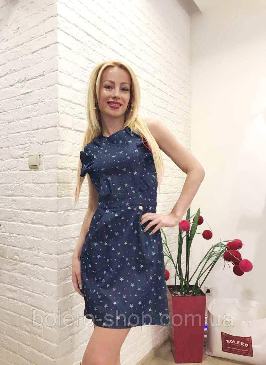 94ebca70694 Женское платье джинсовое летнее короткое Opium - Магазин брендовой женской  и мужской одежды