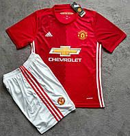 Футбольная форма Манчестер Юнайтед (красная)