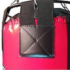 Боксерский мешок SPURT (150х40) красный, фото 2