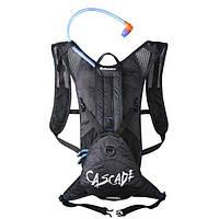 Рюкзак Giant с гидросистемой Cascade 2 (3+5л), черный