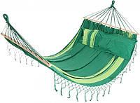 Тканевый гамак + подушка 220х160 (100% хлопок)