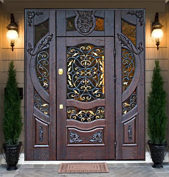 Броньовані вхідні двері під замовлення