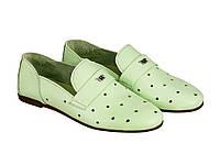 Балетки Etor 6093-7331-4005 36 зеленые, фото 1