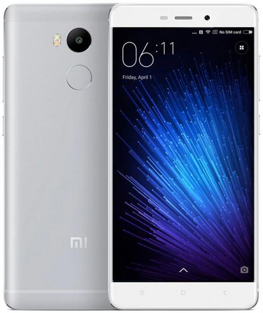Xiaomi Redmi 4 Prime silver 3/32Gb
