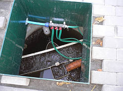 Автономна каналізація і бруківка