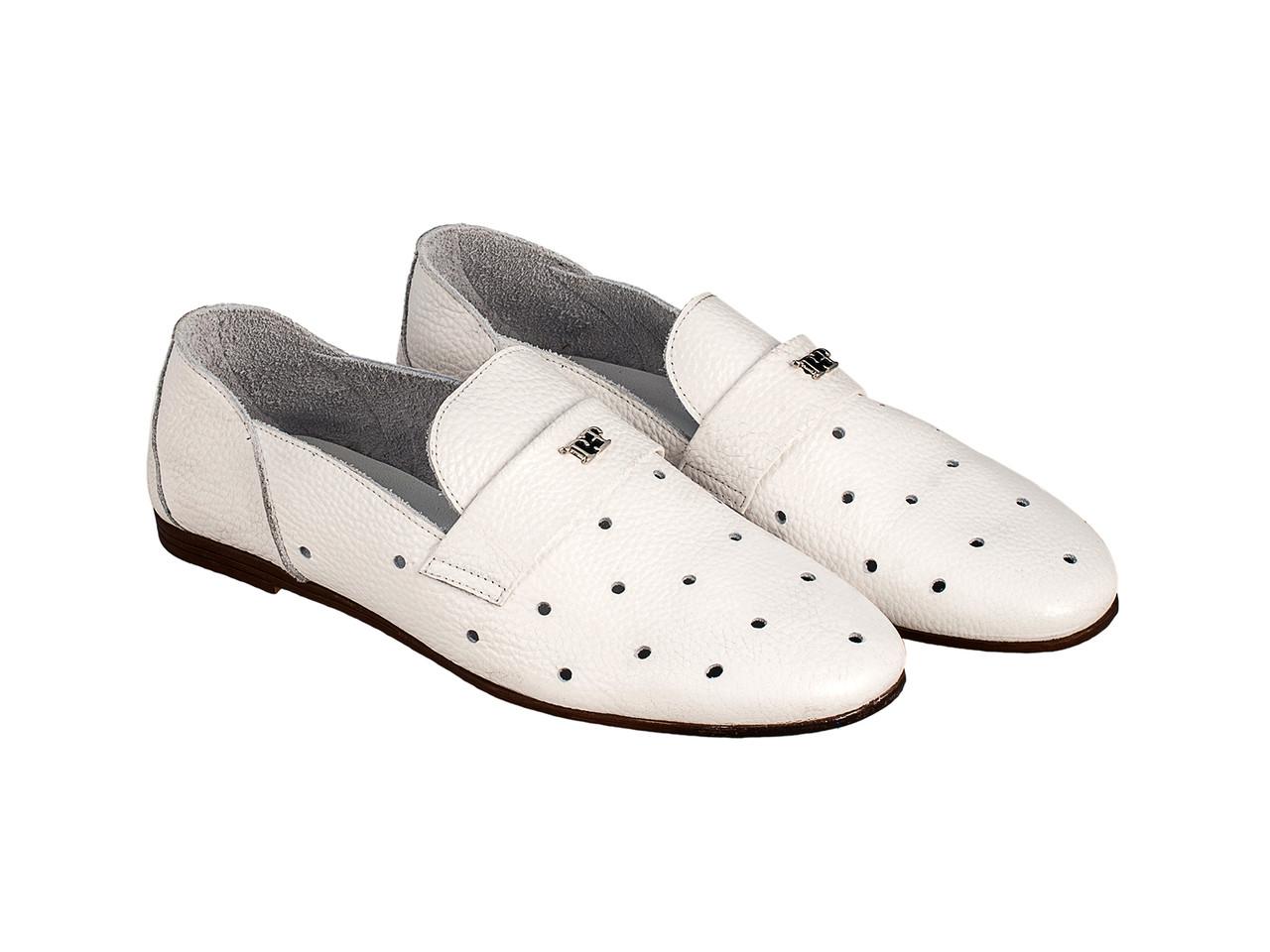 Балетки Etor 6093-7331-1001 белые