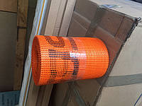 Стеклосетка лента 145 г/кв. м SSA 1363-145 20см, оражевая, фото 1