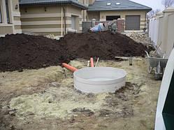 Встановлення очисної споруди для будинку з 4-6 проживаючими