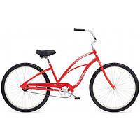"""Велосипед женский 26"""" ELECTRA Cruiser 1 Ladies, Red"""