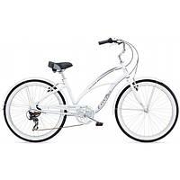 """Велосипед женский 26"""" ELECTRA Cruiser Lux 7D Ladies, White"""