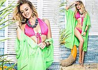 Летняя женская пляжная туника мини